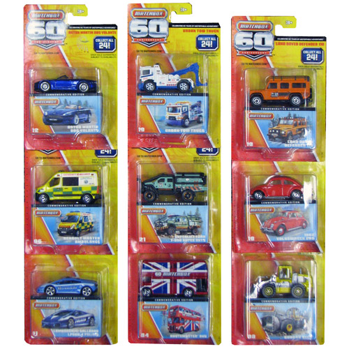 Matchbox 60th Anniversary Wave 3 Vehicle Case
