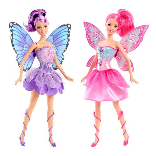 Barbie Mariposa and the Fairy Princess Co-Star Doll Case