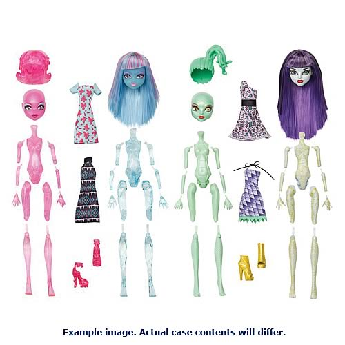 Monster High Create A Monster Starter Pack Wave 2 Case
