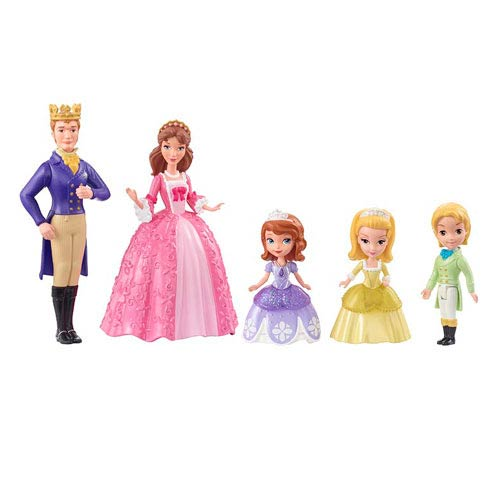 Sofia the First Sofia and Royal Family Doll 5-Pack