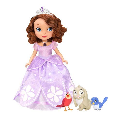 Sofia the First Talking Sofia Doll and Animal Friends Set