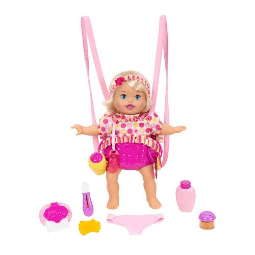 Little Mommy Giggle and Go Caucasian Baby Doll