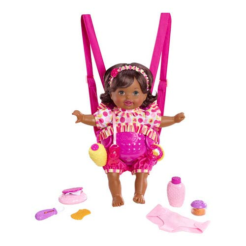 Little Mommy Giggle and Go African American Baby Doll