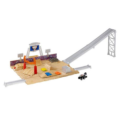 Hot Wheels Monster Jam Mini Monster Showdown Stadium Playset