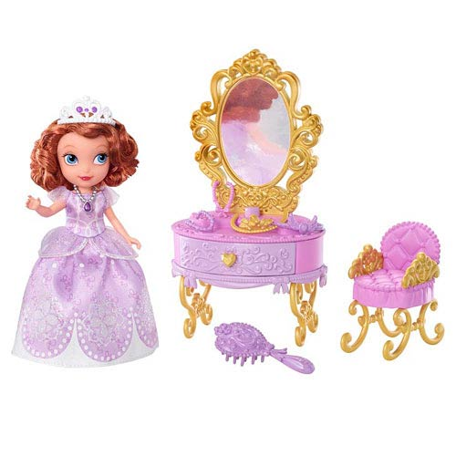 Sofia the First Sofia Doll and Royal Vanity Playset