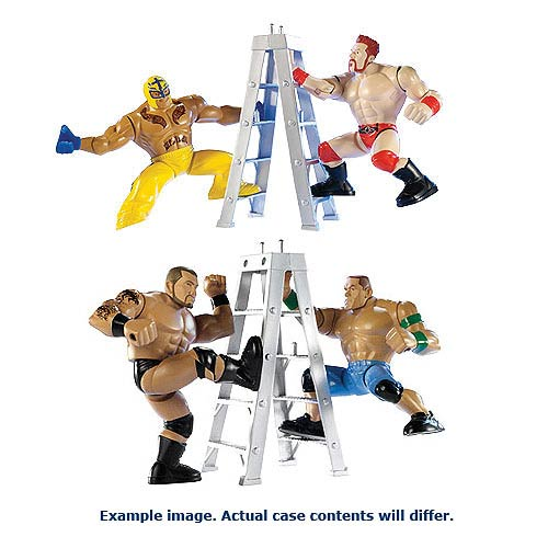 WWE Power Slammers Starter Pack Wave 1 Action Figure Set