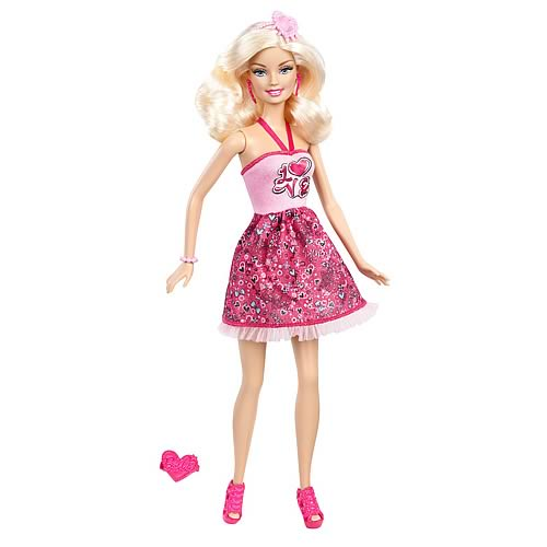 Barbie I Love Valentines! Caucasian Barbie Doll