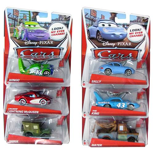 Cars 2 Lenticular Eyes Wave 1 Vehicle Case