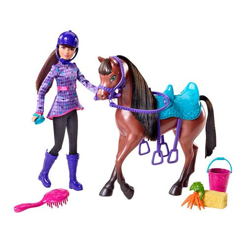 Barbie and Her Sisters Skipper Doll and Horse Set