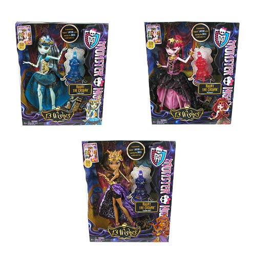 Monster High 13 Wishes Haunt the Casbah Doll Wave 1 Case