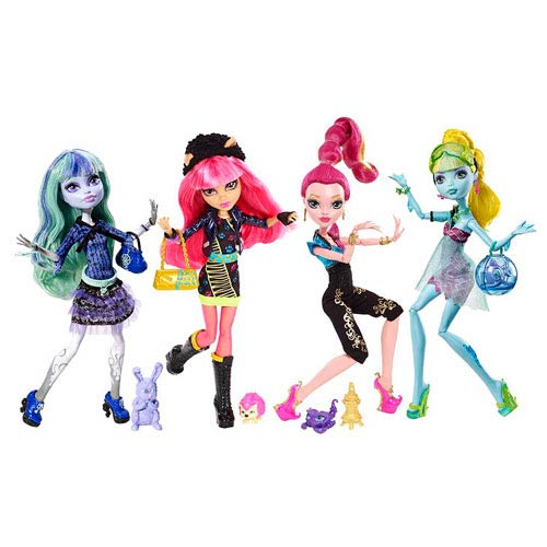 Monster High Doll 13 Wishes Wave 2 Case