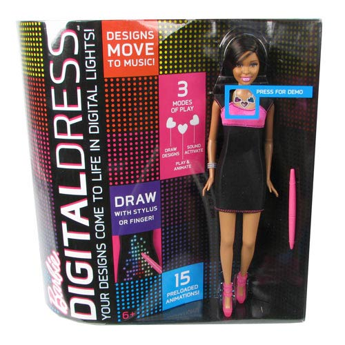 Barbie Digital Dress African American Doll