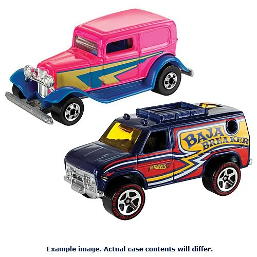 Hot Wheels Flying Colors Wave 1 Vehicle Case