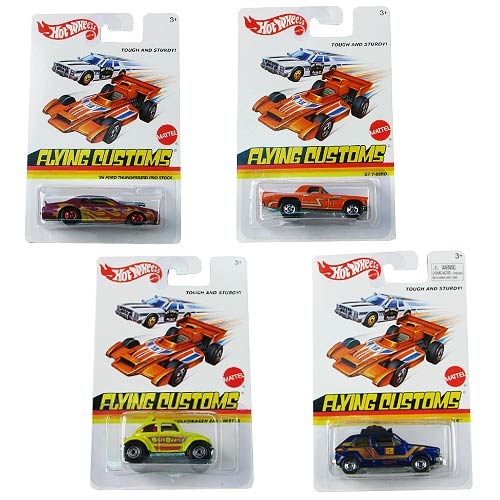 Hot Wheels Flying Colors Wave 3 Vehicle Set