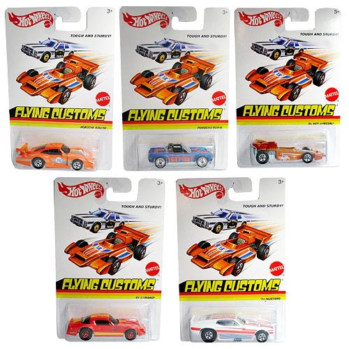 Hot Wheels Flying Colors Wave 4 Vehicle Case