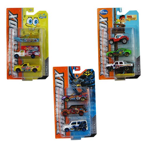 Matchbox TV Heroes Die-Cast Vehicle 3-Pack Case