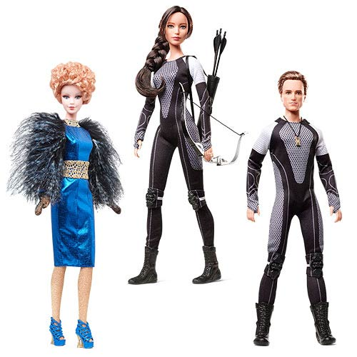 Hunger Games Catching Fire Barbie Doll Case