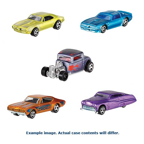 Hot Wheels Cool Classics Vehicles Wave 1 Case