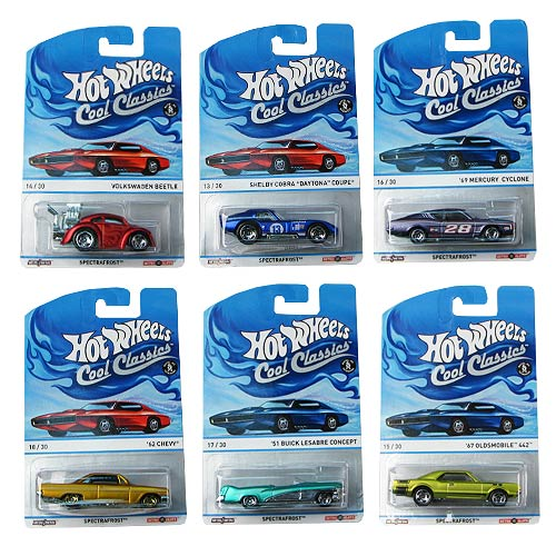 Hot Wheels Cool Classics Vehicles Wave 2 Case