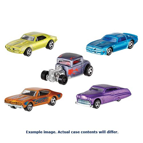Hot Wheels Cool Classics Vehicles Wave 7 Case