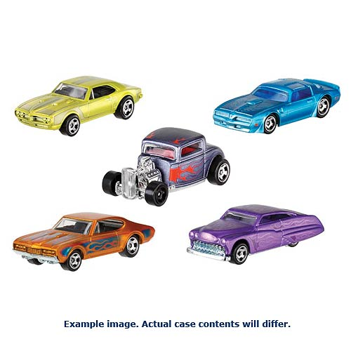 Hot Wheels Cool Classics Vehicles Wave 8 Case
