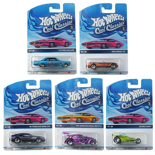 Hot Wheels Cool Classics Vehicles Wave 9 Case