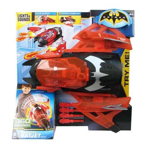 Batman Spin Strike Bat Jet Vehicle