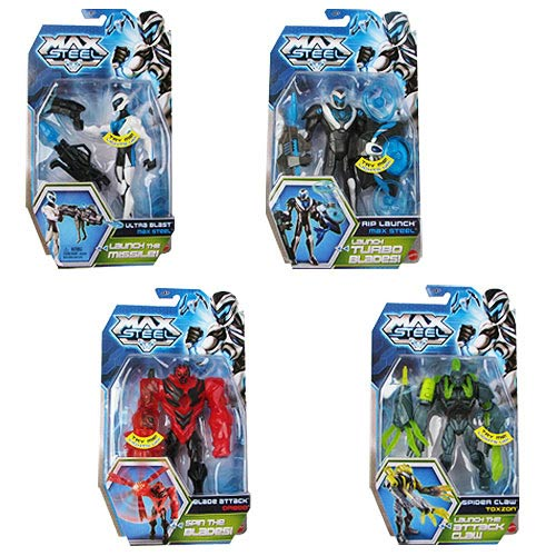 Max Steel Basic Action Figure Case