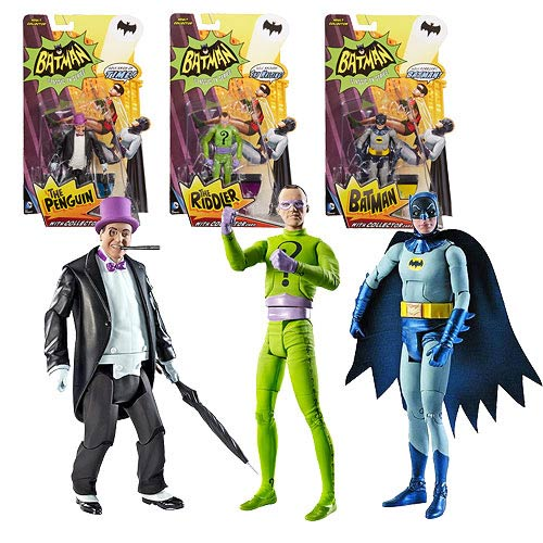 Batman Classics 1966 TV Series Wave 1 Figure Set