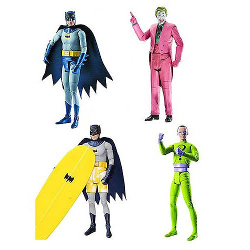 Batman Classics 1966 TV Series Wave 2 Figure Case