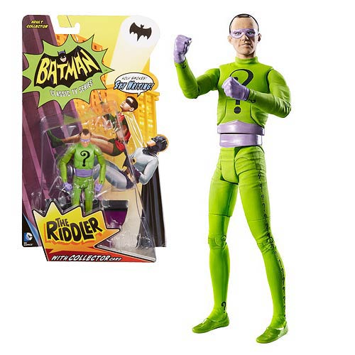 Batman Classics 1966 TV Series The Riddler Action Figure