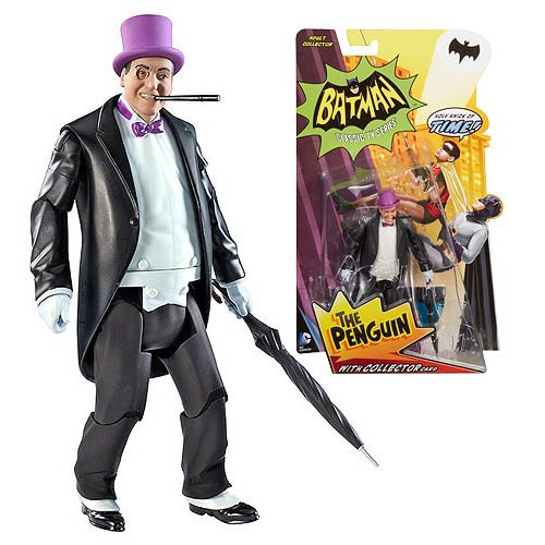 Batman Classics 1966 TV Series The Penguin Action Figure
