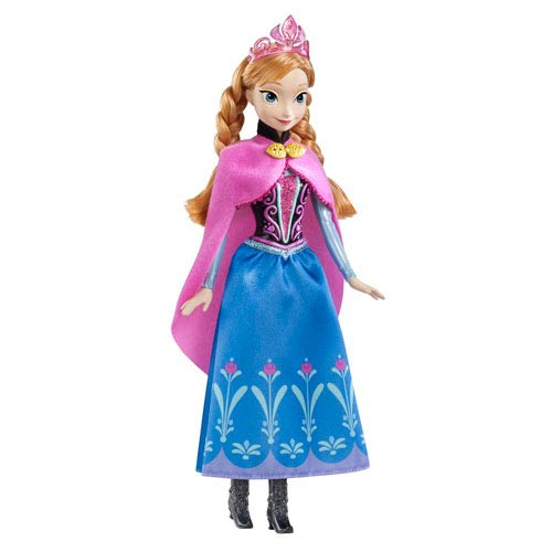 Frozen Disney Princess Sparkle Anna Fashion Doll