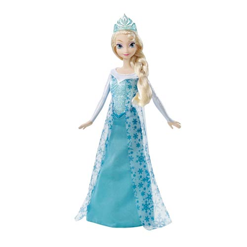 Disney Frozen Princess Sparkle Elsa Fashion Doll