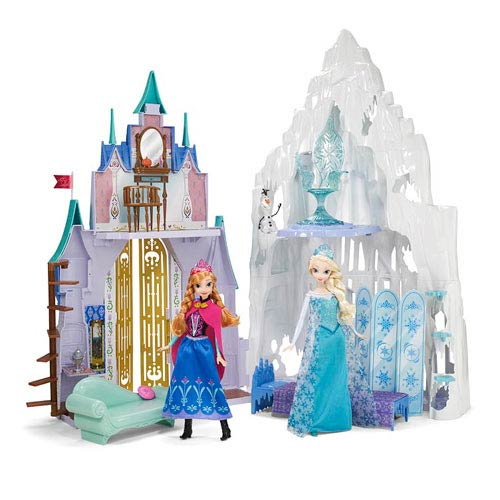 Frozen Disney Princess 2-in-1 Castle Playset