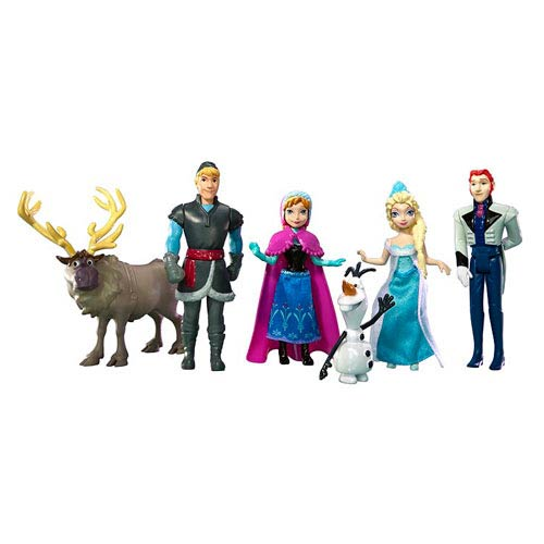 Frozen Disney Princess Complete Story Small Doll Set