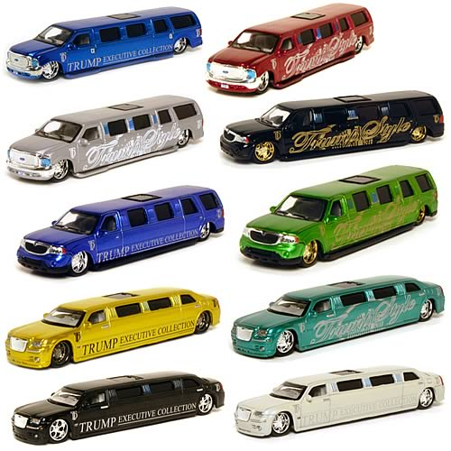 Donald Trump 1:64 Scale Die-Cast Limousine