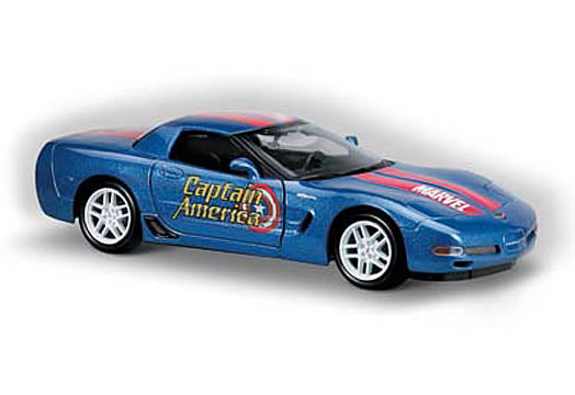 Captain America 1:24 Corvette