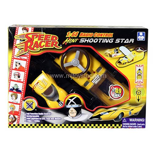 Speed Racer Mini Shooting Star 1:64 Scale R/C Vehicle