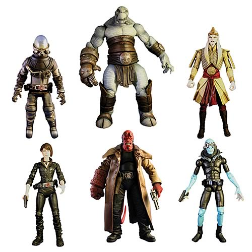 Hellboy II The Golden Army Wave 1 Action Figure Set