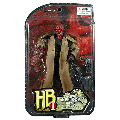 Hellboy II The Golden Army Hellboy (Closed Mouth) Figure