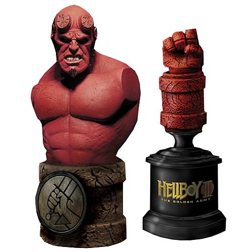 Hellboy II The Golden Army Roto Bust Set