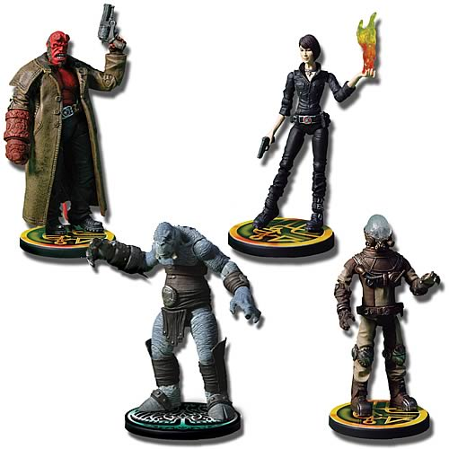 Hellboy II The Golden Army 3 3/4-Inch Action Figures
