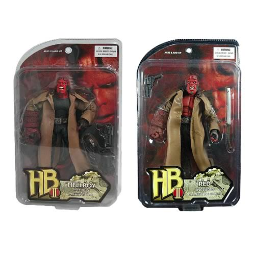 Hellboy II The Golden Army Hellboy Action Figure Set