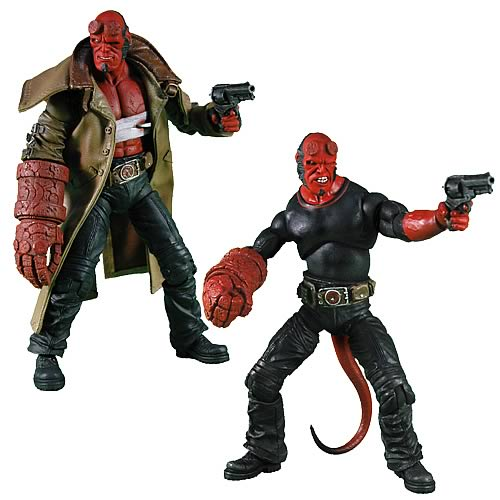 Hellboy II Golden Army Series 2 Hellboy Action Figure Set