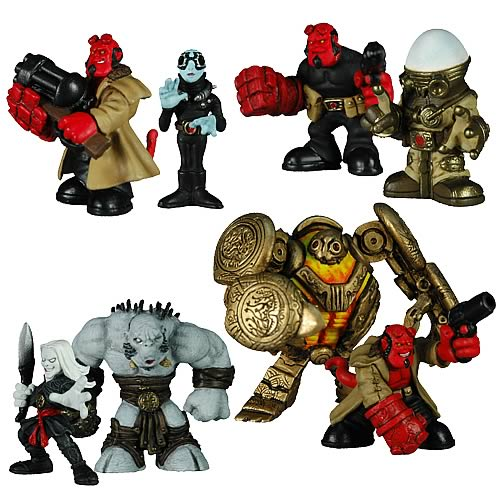 Hellboy B.P.R.D. Buddies Figure Set