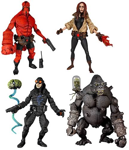 Hellboy Comic Figures Series 1 Set