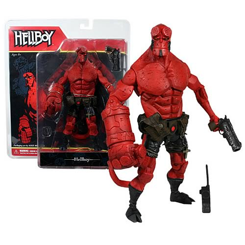 Hellboy Comic Figure: Hellboy