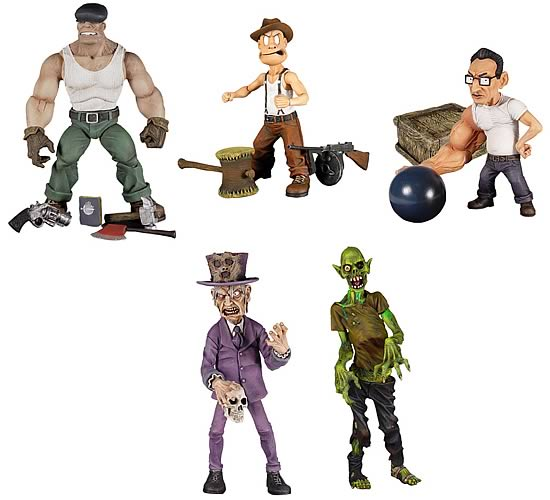 The Goon Series 1 Action Figure Set