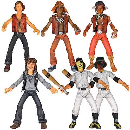 Warriors Movie Come Out And Play: The Warriors Action Figure Set